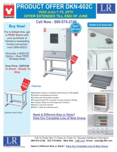 Yamoto Oven & Free Stand Offer