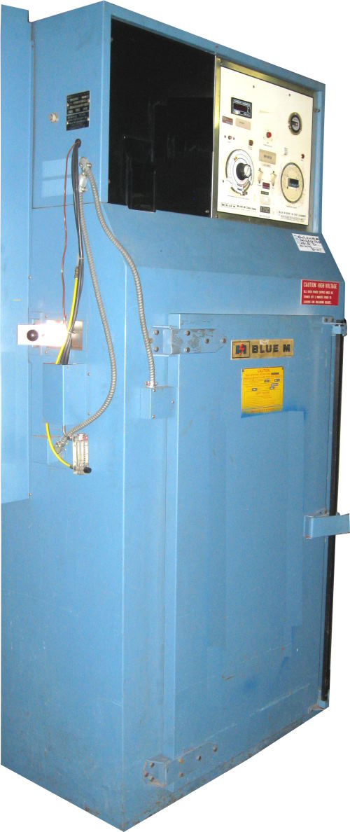 Used BLUE M POM7-16BI-E/F Industrial Ovens/ Batch Ovens/ Heat Treat Ovens/ Powder Coating Ovens