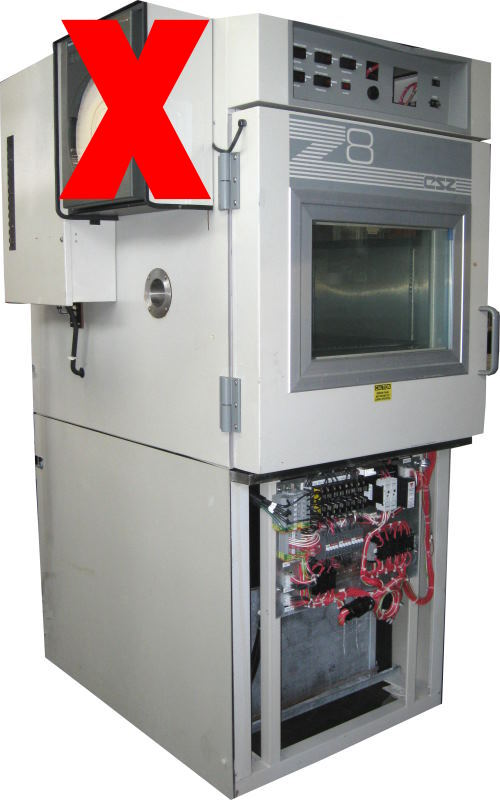 Used CSZ Z-8-2-2-H/AC Production Chambers/ Temperature Chambers