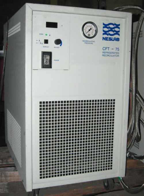 Used NESLAB CFT-75 Laboratory Equipment/ Water Chillers