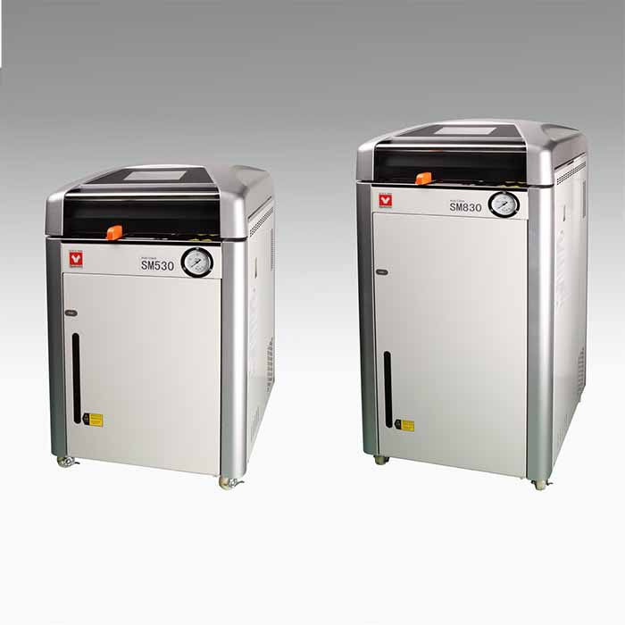 Used YAMATO SM520 / SM820 Sterilizers/ Autoclaves