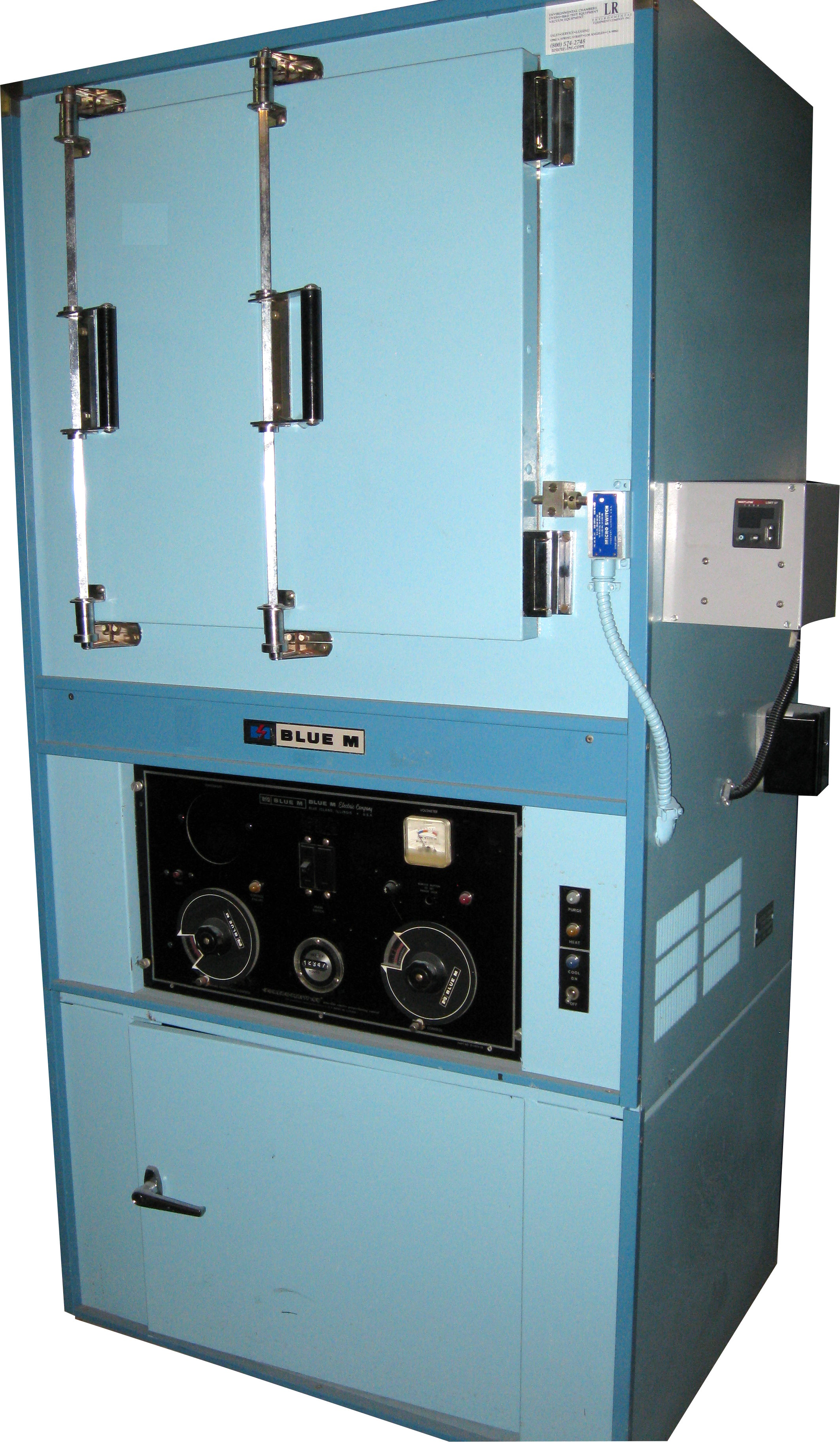 Used BLUE M AGC206B-3 Industrial Ovens/ Laboratory Ovens/ Inert Gas Ovens