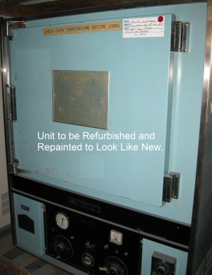 Used BLUE M POM-256B-1HP Industrial Ovens/ Curing Ovens/ Powder Coating Ovens/ Annealing Ovens