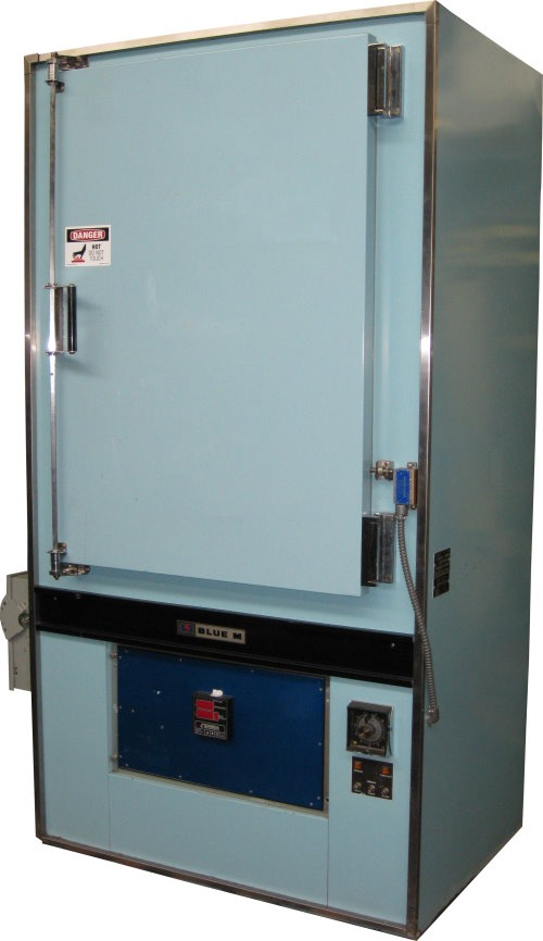Used BLUE M POM7-336F-2X Industrial Ovens/ Batch Ovens/ Curing Ovens/ Heat Treat Ovens/ Powder Coating Ovens