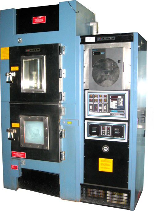 Used BLUE M WSP-109B-MP3 CO2 LN2 Chambers/ Thermal Shock Chambers/ Cryogenic Chambers