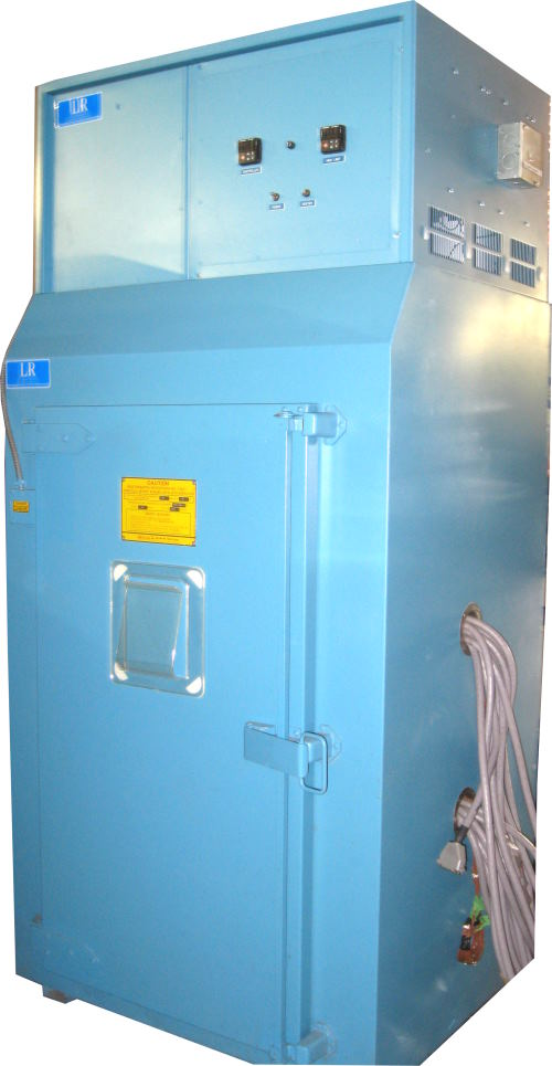 Used BLUE M POM-7-16BI-E/F Industrial Ovens/ Batch Ovens/ Curing Ovens/ Heat Treat Ovens/ Powder Coating Ovens