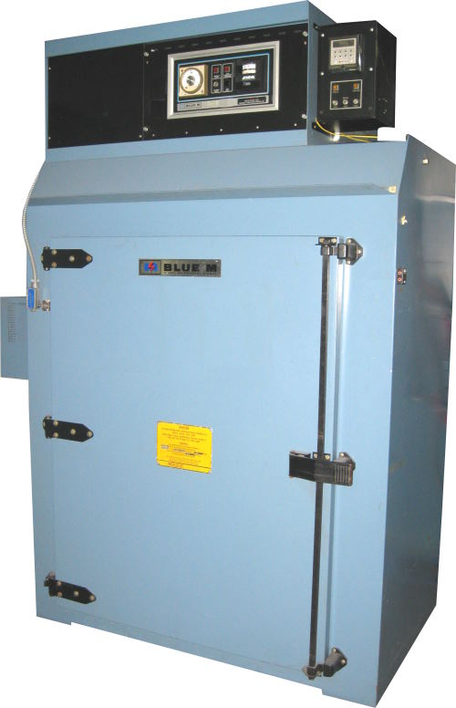 Used BATCH OVEN - BLUE M DC-246A-FHP-1 Industrial Ovens/ Batch Ovens/ Curing Ovens/ Heat Treat Ovens/ Powder Coating Ovens