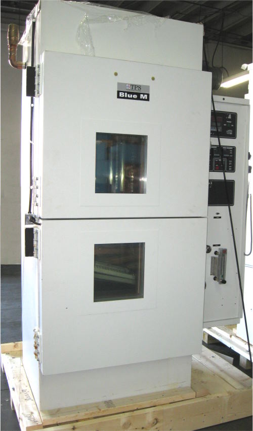 Used BLUE M WSP-109-B-MP750 CO2 LN2 Chambers/ Thermal Shock Chambers