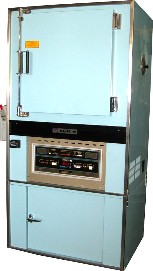 Used BLUE M POM7-206C-3X Curing Ovens/ Heat Treat Ovens/ Powder Coating Ovens/ Annealing Ovens