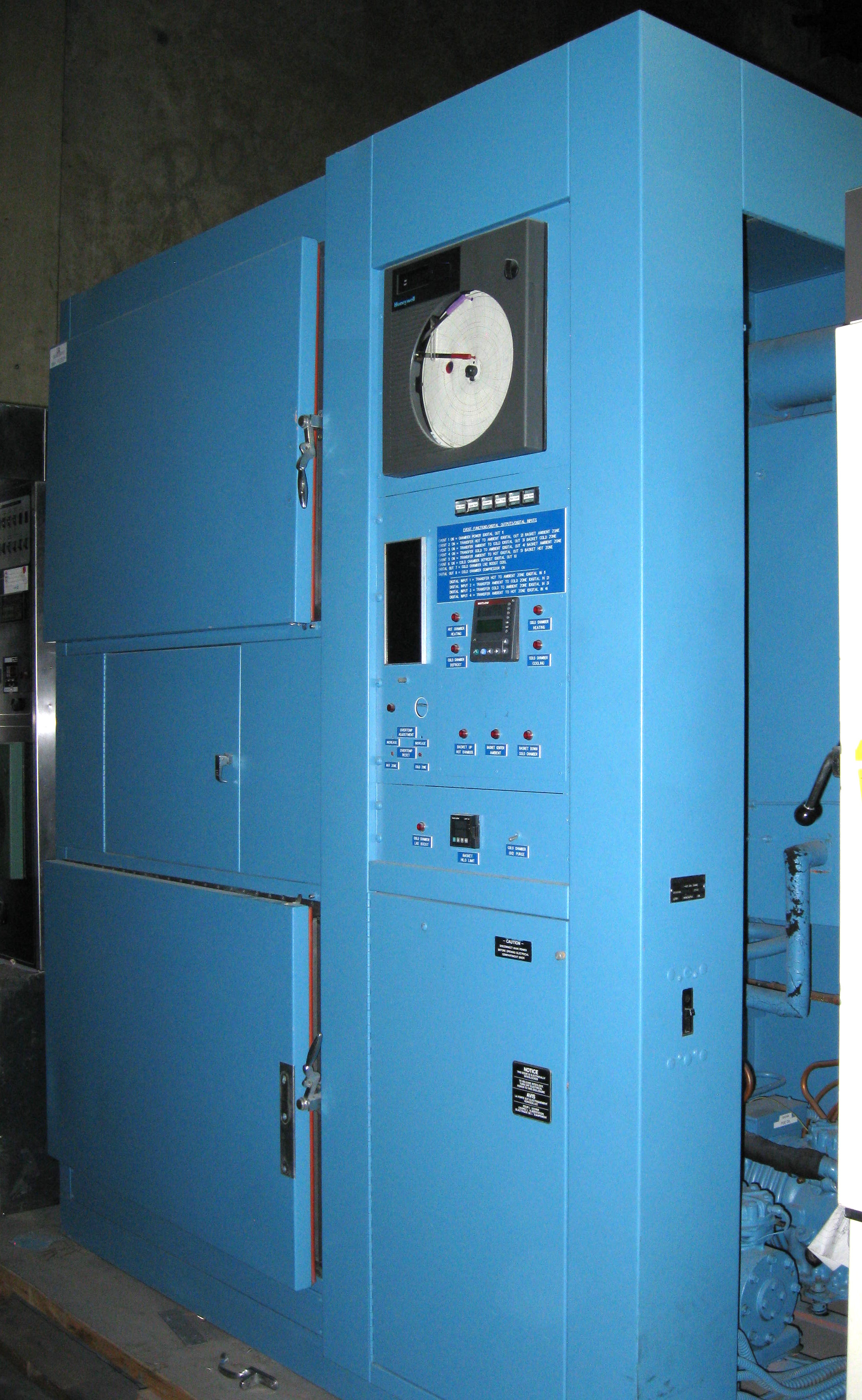 Used RANSCO 7303-3 Thermal Shock Chambers