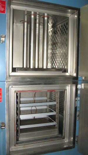 Used BLUE M WSP-109B-5 CO2 LN2 Chambers, Thermal Shock Chambers, Cryogenic Chambers