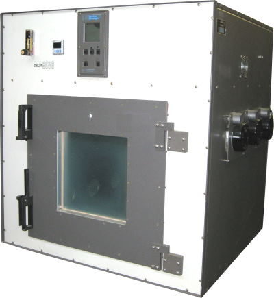Used DELTA DESIGN 9076-6-6-4 CO2 LN2 Chambers/ Production Chambers/ Temperature Chambers/ Cryogenic Chambers