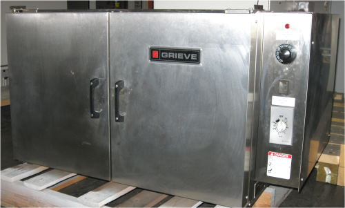 Used GRIEVE NB-350 Laboratory Ovens/ Bench Top Ovens