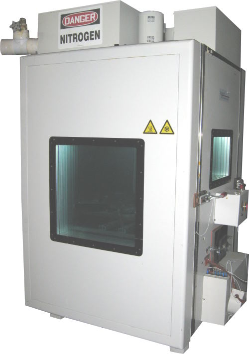 Used QUALMARK OVS2.5 CO2 LN2 Chambers/ Halt Chambers/ Production Chambers/ Temperature Chambers/ Cryogenic Chambers