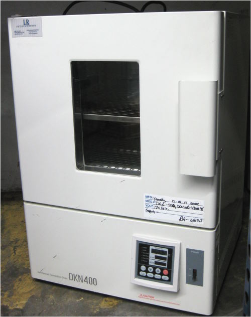 Used YAMATO DKN-400 Laboratory Ovens/ Bench Top Ovens