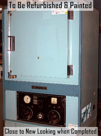 Used BLUE M DC-206C-GOP Industrial Ovens/ Bench Top Ovens/ Heat Treat Ovens/ Powder Coating Ovens/ Annealing Ovens