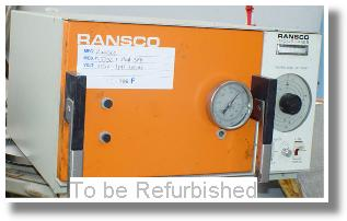 Used RANSCO SD-30 CO2 LN2 Chambers/ Temperature Chambers