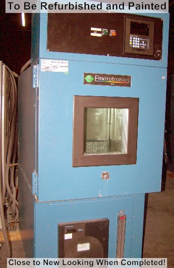 Used ENVIROTRONICS  EH8-1-2  Humidity Chambers/ Temperature Humidity Chambers