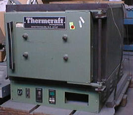 Used THERMCRAFT BX-REC Furnace/ Laboratory Ovens/ Heat Treat Ovens/ Hi Temp Ovens/ Annealing Ovens