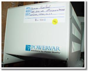 Used POWERVAR AC5000-2S Other Test Equipment
